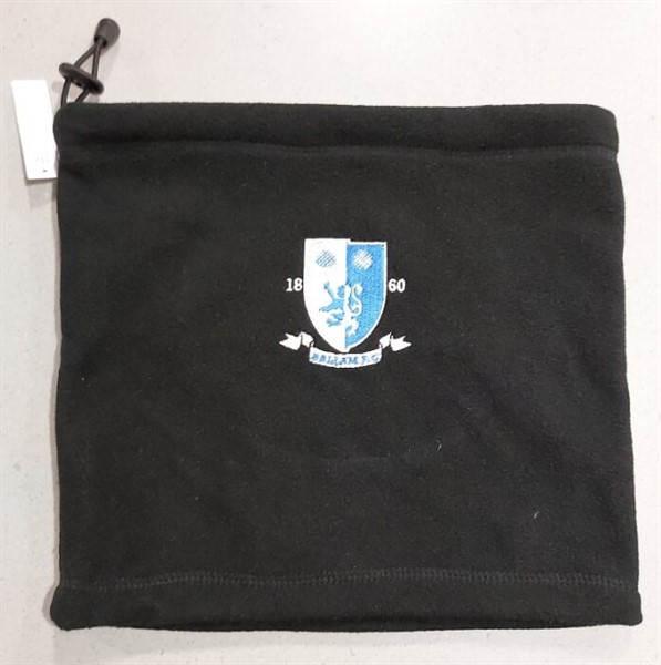 black snood hallam fc